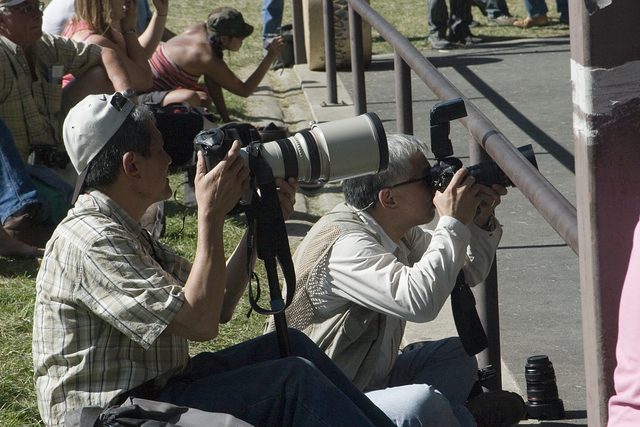 Stampede: Photographers at work